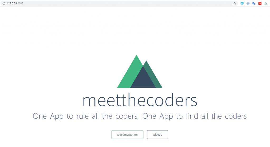 La première version de notre application sous Nuxt.js et AdonisJs