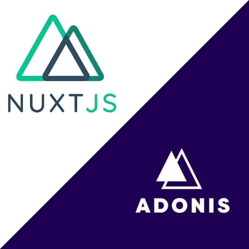 Tuto Nuxt.js / AdonisJs