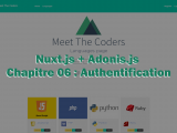 Nuxt.js + Adonis.js / Chapitre 06 : Authentification