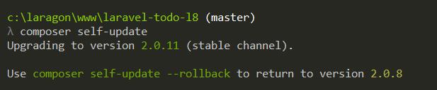 In PackageManisfest.php line 131 étape 1 de la résolution de l'erreur